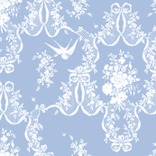 Willa Toile blueberry