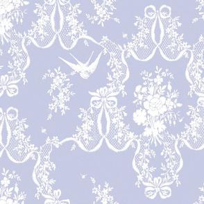 Willa Toile blue violet