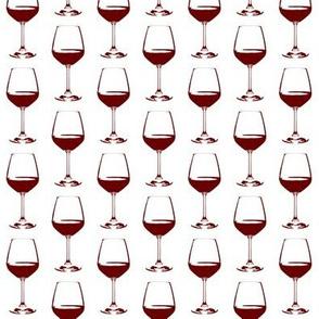 Burgundy Wine Glass // Small
