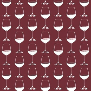 Wine Glasses on Cabernet // Small