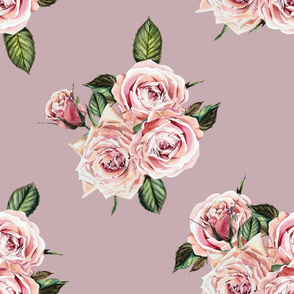 "21"" Wild Child Roses - Antique Rose"