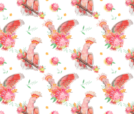 HelloGorgeous_50_smaller fabric by vellaquin on Spoonflower - custom fabric