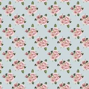 "1.5"" Wild Child Roses - Dusty Green"