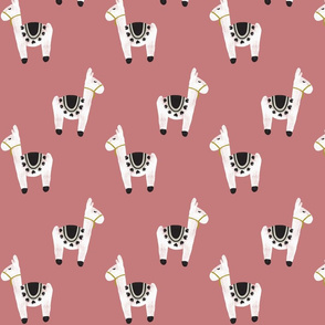 watercolor llamas // 61-12