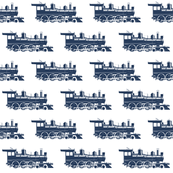 Navy Blue Steam Engines // Small