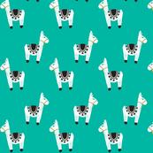 watercolor llamas // 130-6