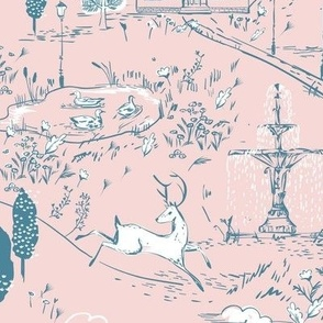 Le Parc Toile (blush)