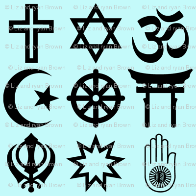 World Religions // Teal
