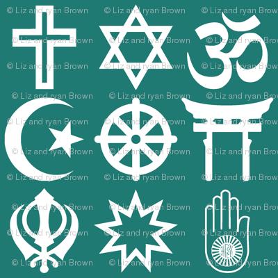 World Religions // Aqua