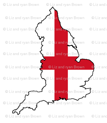 English Flag Overlay