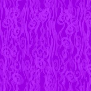 1 FABRIC PURPLE  SWIRLS