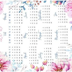 "2018 calendar 27""x18"""