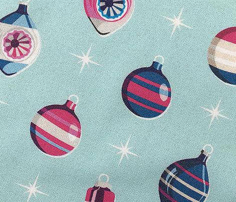 Adorn* (Blues & Pinks on Polymer)    Christmas ornaments holiday vintage mercury glass shiny brite star stars atomic midcentury
