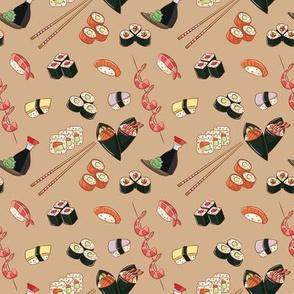 Sushi on Sesame