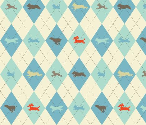 Dogyle fabric by lellobird on Spoonflower - custom fabric