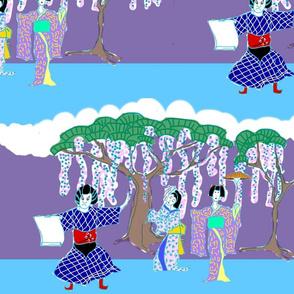 Kabuki Stage Color