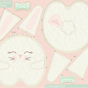 Sweet Bunny Kawaii Pillow Warmer