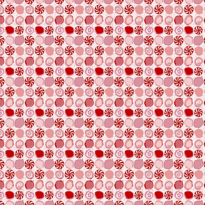 peppermint candy // winter giftwrap xmas hol...