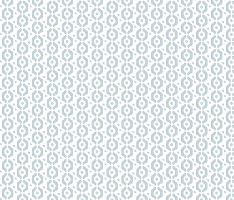 small herringbone dots blue white links circles small pattern fabric by jenlats on Spoonflower - custom fabric