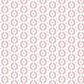 small herringbone dots pink blush circles links