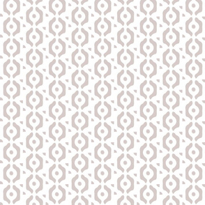 small taupe dots beige tan dots links circles