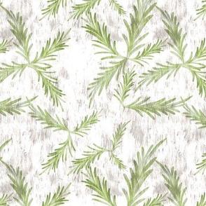 Winter Greens herb twigs