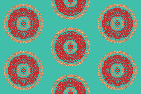 Ornament fabric by jjdesignwithlove on Spoonflower - custom fabric