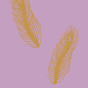Floating Feathers- Large