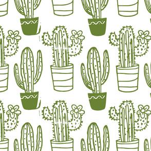 Large Light Green Cactus