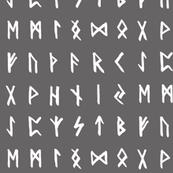 Nordic Runes // Grey