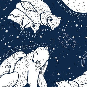 Polar Bear and Constellation