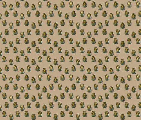 King Tut 3D Pyramids fabric by drc3ddesigns on Spoonflower - custom fabric