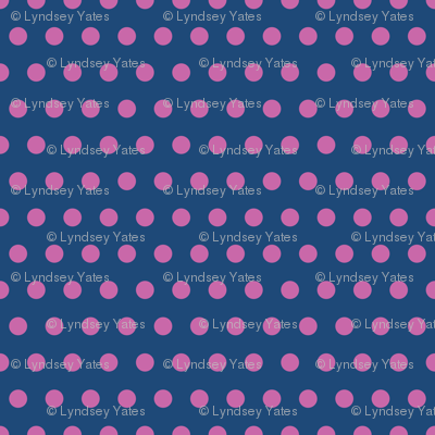 Swedish-Folk-Art-Garden-Blue-Pink-Polka
