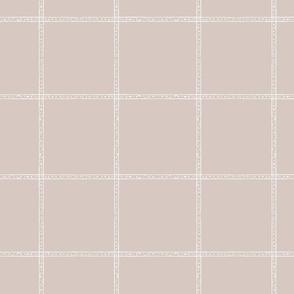 stamped beige check tan check beige plaid large tan plaid