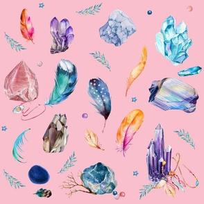 """10.5"""" Gypsy Dreamer - Brighter Pink"""