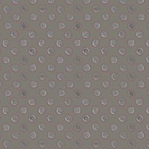 grey dotdash