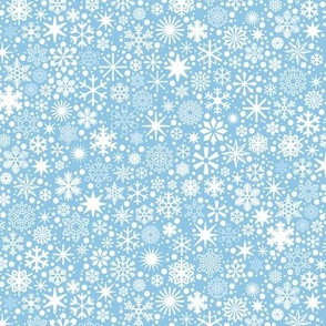 Let It Snow!* (Popeye) || snowflakes ditsy star stars winter Christmas holiday