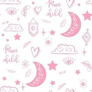 "10.5"" Moon Child - Pink"