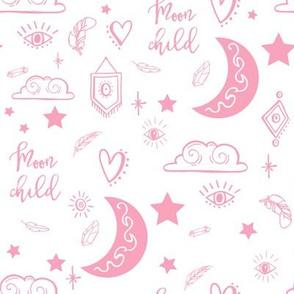 "8"" Moon Child - Pink"