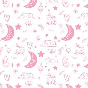 "4"" Moon Child - Pink"