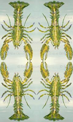 Heathers Green Lobster_Hug