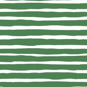 "7"" Dry Green Stripes / SLOTHS LOVE PINK MIX & MATCH PRINT"