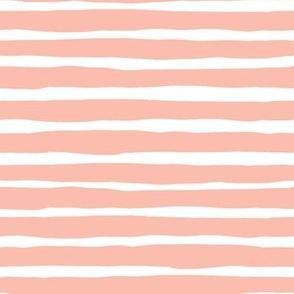 Peach Stripes / SLOTHS LOVE PINK MIX & MATCH PRINT