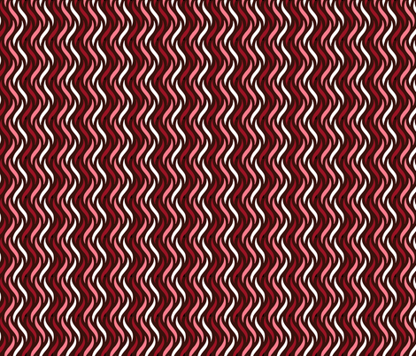 Raspberry Chocolate Rippple...Please Click Me to See Me Better... I'm Worth a Click!  fabric by babalooga on Spoonflower - custom fabric