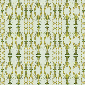 Heather Green Lobster Chain