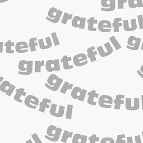 grateful -gray