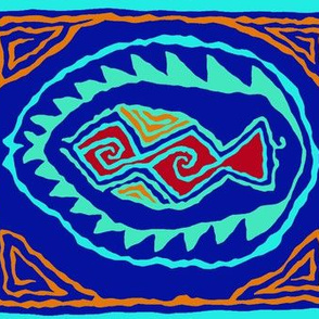 Southwest Folk Art Pescado