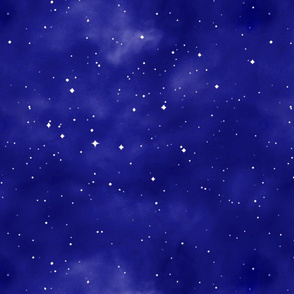 Blue Starry Night