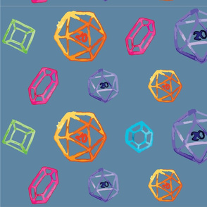 Dice and Gems