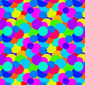 Overlapping Colorful Circles